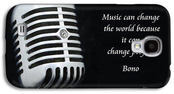 Bono On Music Galaxy S4 Case by Paul Ward