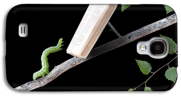 Book Worm Galaxy S4 Case by Cindy Singleton
