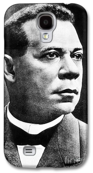 Booker T. Washington, African-american Galaxy S4 Case by Photo Researchers