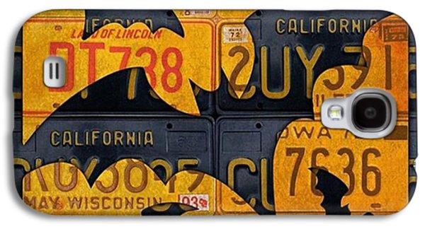 Orange Galaxy S4 Case - #boo  @fineartamerica #licenseplates by Design Turnpike