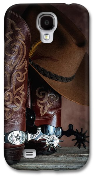 Boots And Spurs Galaxy S4 Case