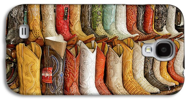 Boots In Every Color Galaxy S4 Case