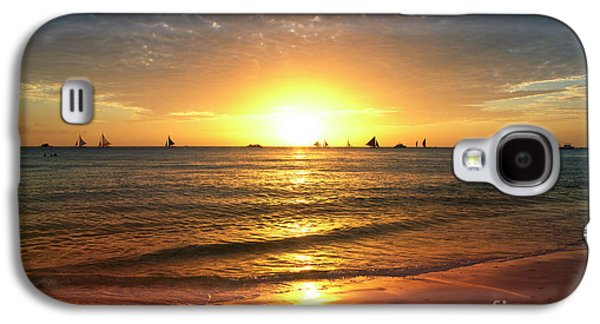 boracay,Philippians 4 Galaxy S4 Case by Mark Ashkenazi