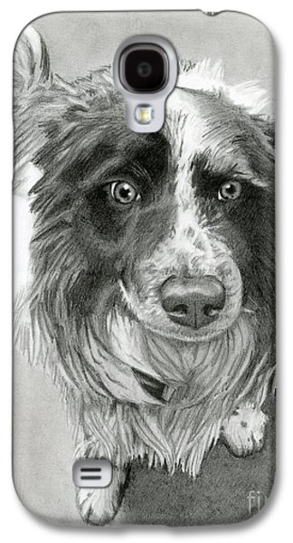 Border Collie Galaxy S4 Case