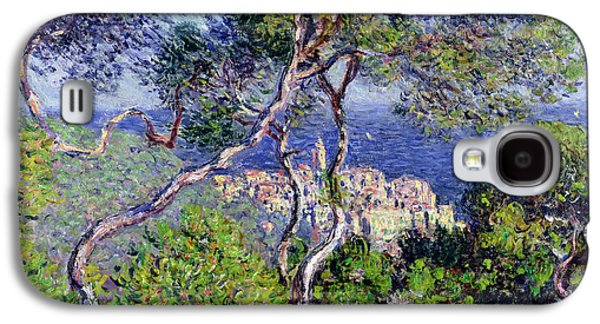 Bordighera Galaxy S4 Case by Claude Monet