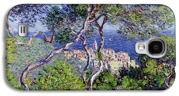 Bordighera Galaxy S4 Case by Claude Monet