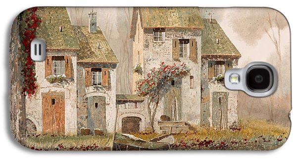 Borgo Nebbioso Galaxy S4 Case by Guido Borelli