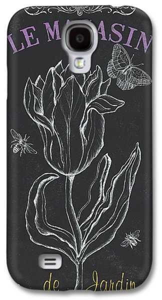 Tulip Galaxy S4 Case - Bortanique 4 by Debbie DeWitt