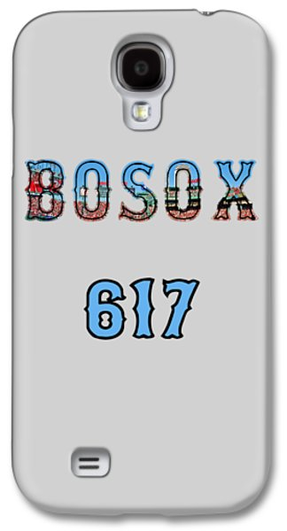Boston 617 Logo Galaxy S4 Case by Joann Vitali