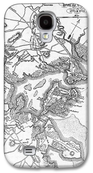 Boston And Its Environs In 1775 And 1776 Galaxy S4 Case