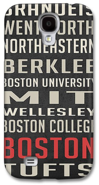 Boston Collegetown Galaxy S4 Case by Edward Fielding
