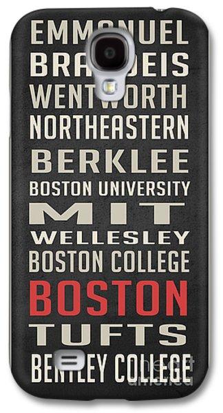 Boston Collegetown Galaxy S4 Case