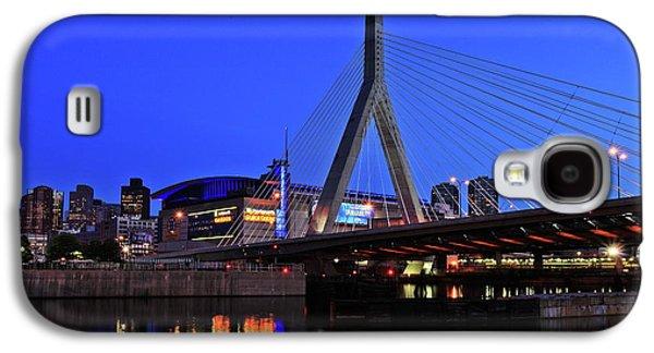 Boston Garden And Zakim Bridge Galaxy S4 Case