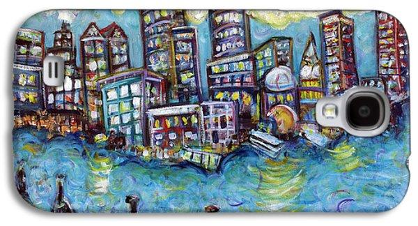 Boston Harbor Galaxy S4 Case by Jason Gluskin