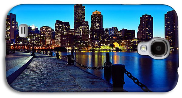Boston Harbor Walk Galaxy S4 Case by Rick Berk