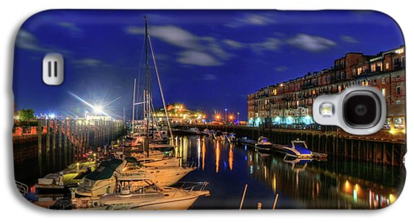 Boston Long Wharf At Night Galaxy S4 Case by Joann Vitali