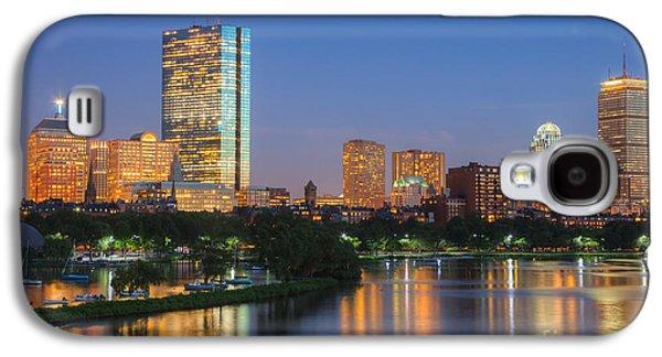 Boston Night Skyline II Galaxy S4 Case