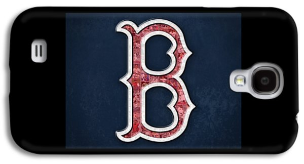 Boston Red Sox Galaxy S4 Case by Fairchild Art Studio