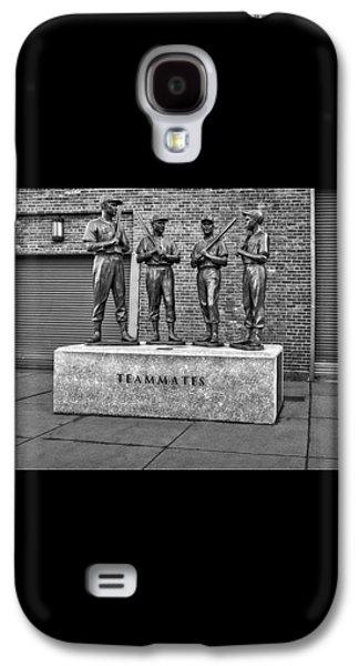 Boston Red Sox Teammates Bw Galaxy S4 Case by Susan Candelario