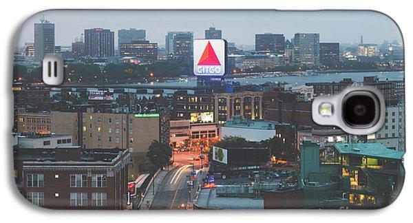 Boston Skyline Aerial Citgo Sign Photo Galaxy S4 Case by Paul Velgos