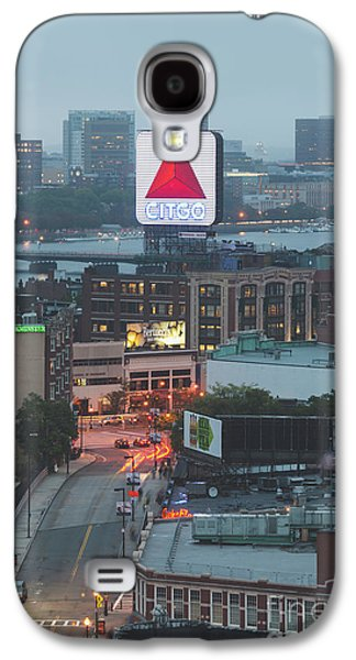 Boston Skyline Aerial Photo With Citgo Sign Galaxy S4 Case by Paul Velgos