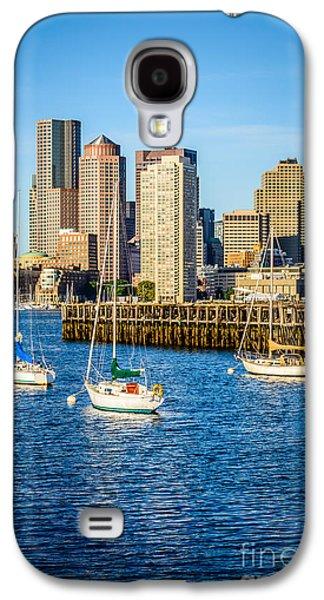 Boston Skyline Photo With Port Of Boston Galaxy S4 Case