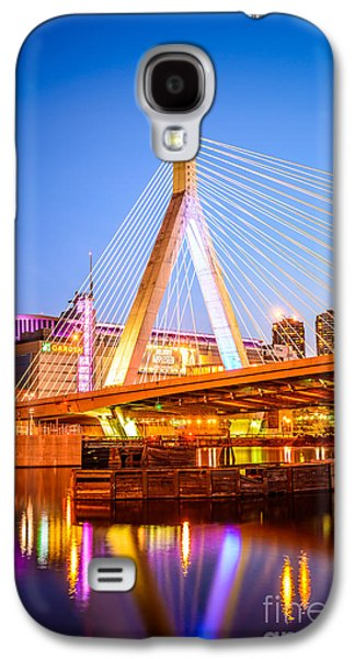 Boston Zakim Bunker Hill Bridge At Night Photo Galaxy S4 Case