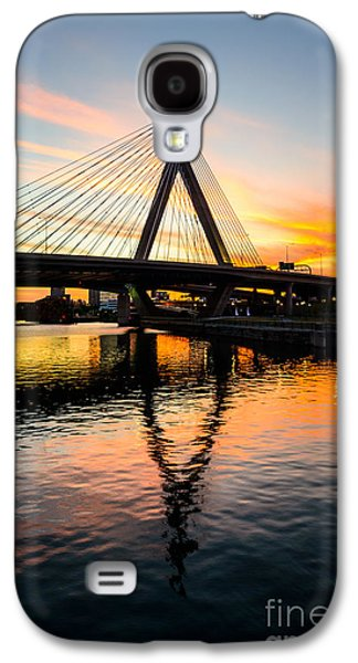 Boston Zakim Bunker Hill Bridge At Sunset Galaxy S4 Case
