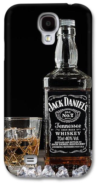 Bottle Of Jack Daniel's Galaxy S4 Case by Amanda Elwell
