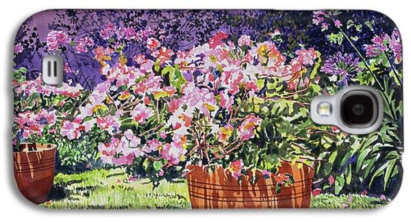 Bougainvillea Flower Pots Beverly Hills Galaxy S4 Case