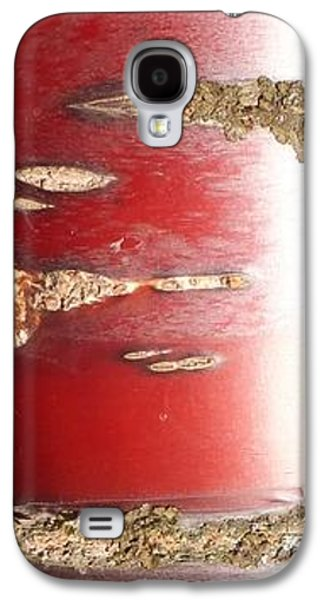 Bouleau Rouge Galaxy S4 Case by Marc Philippe Joly