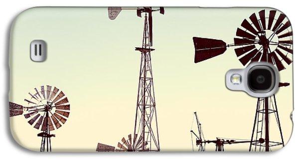 Bountiful Windmills Galaxy S4 Case by Todd Klassy