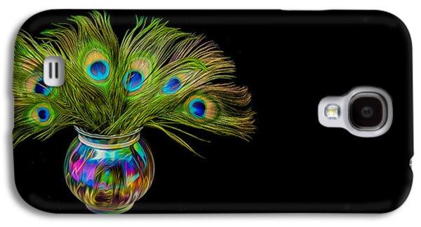 Bouquet Of Peacock Galaxy S4 Case
