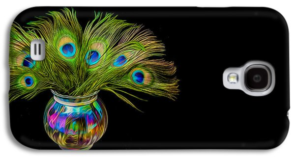 Galaxy S4 Case featuring the photograph Bouquet Of Peacock by Rikk Flohr