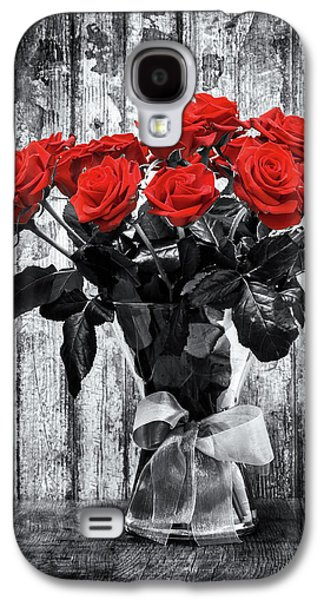 Bouquet Of Roses Galaxy S4 Case