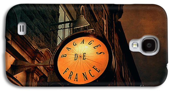 Boutique Sign - Quebec City Galaxy S4 Case by Maria Angelica Maira