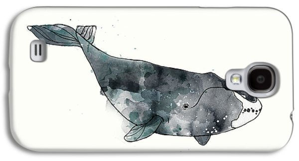 Bowhead Whale From Whales Chart Galaxy S4 Case by Amy Hamilton