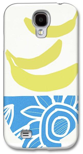 Banana Galaxy S4 Case - Bowl Of Bananas- Art By Linda Woods by Linda Woods