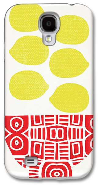 Bowl Of Lemons- Art By Linda Woods Galaxy S4 Case
