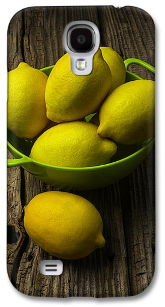Bowl Of Lemons Galaxy S4 Case by Garry Gay