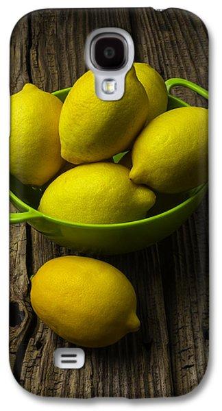 Bowl Of Lemons Galaxy S4 Case