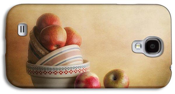 Bowls And Apples Still Life Galaxy S4 Case by Tom Mc Nemar