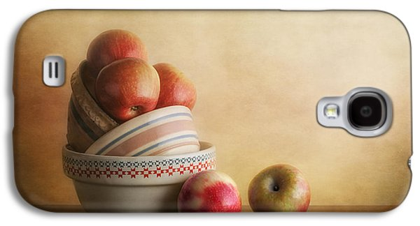 Apple Galaxy S4 Case - Bowls And Apples Still Life by Tom Mc Nemar