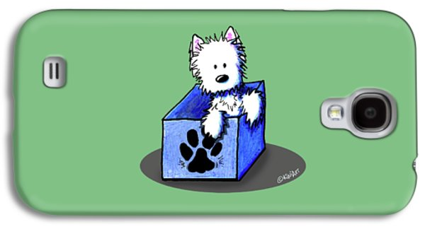 Boxed In Cuteness Galaxy S4 Case by Kim Niles