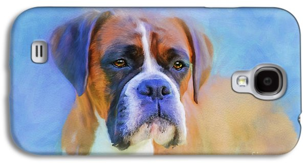 Boxer Blues Galaxy S4 Case by Michelle Wrighton