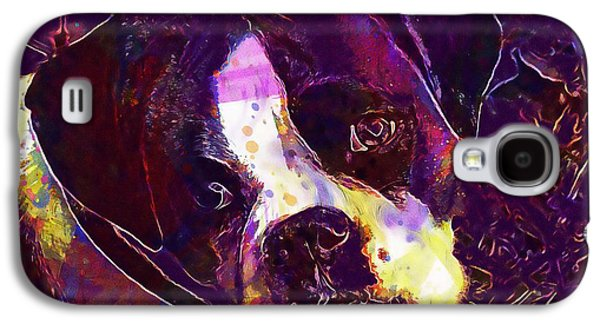 Boxer Dog Puppy  Galaxy S4 Case