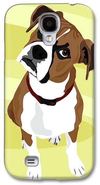 Boxer Head Tilt Galaxy S4 Case