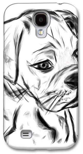 Boxer Pup Galaxy S4 Case