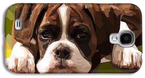 Boxer Puppy Galaxy S4 Case