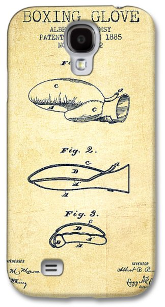 Boxing Glove Patent From 1885 - Vintage Galaxy S4 Case